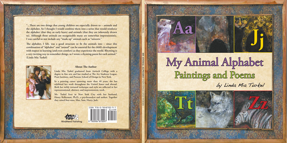My Animal Alphabet: Paintings and Poems